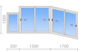 Остекление балконов на карте. - наши работы - каталог статей.