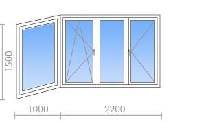П3м остекление балкона rehau. - лоджии - каталог статей - ба.