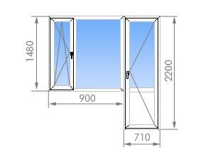 П44 т балконный блок размеры. - оригинальные балконы - катал.