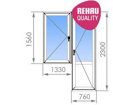 Цены на пластиковые окна в 1-515/9ш - от 9 600 руб. - okna s.