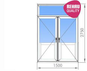 Цены на пластиковые окна в сталинке от 15 400 руб. с фрамуго.