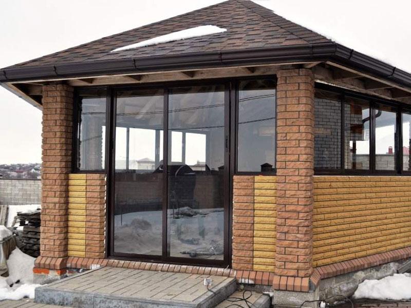 Рассчитать балкон с крышей из проведаля.