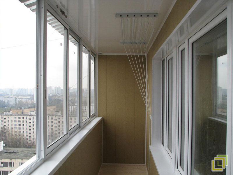 Остекление и отделка балкона цена остекление балконов профлистом