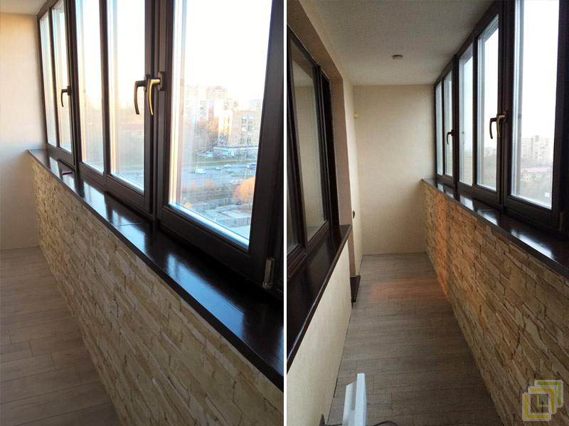 Договор на отделку балкона