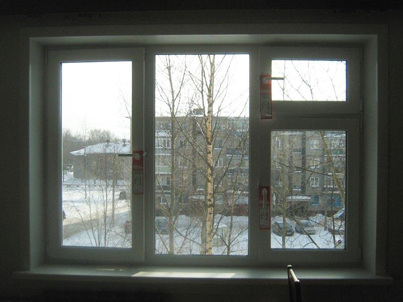 Пластиковые окна с форточкой (цена, фото, размеры) - okna st.