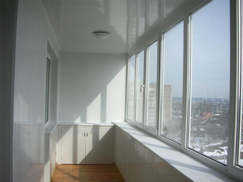 Остекление балконов стеклопакетами рехау ремонт балкона фото цены