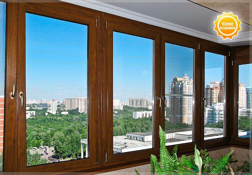 Остекление балкона деревянными стеклопакетами остекление стандартного балкона стоимость