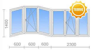 Цена на остекление балкона в п-111м от 15 050 руб. - okna st.