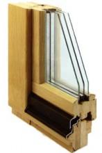 Купить деревянные окна Люкс