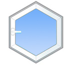 Нестандартное многоугольное окно
